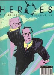 Heroes Official Magazine #2 PX Variant Cover Titan Magazines